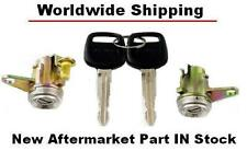 TOYOTA COROLLA (E10) 93-97 DOOR LOCKS WITH KEYS KIT USA Type NEW IN STOCK