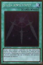 YU-GI-OH! PGLD-IT057 Spada Rivelatrice Rara Gold Italiano