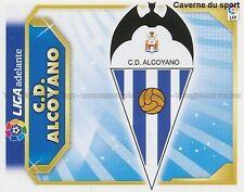 ECUSSON ESCUDO CD.ALCOYANO ESPANA STICKER PANINI CROMO LIGA 2012