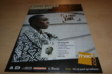 LAURA MVULA !!!!!!!!!!!!!!!!!2013 !!!UK!!! PUBLICITE/ADVERT!!!