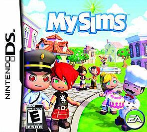 MySims (Nintendo DS) Lite Dsi xl 2ds 3ds xl