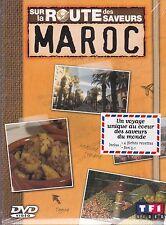 SUR LA ROUTE DES SAVEURS - MAROC - DVD TF1 - UN VOYAGE CULINAIRE DVD NEUF