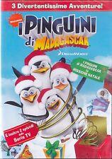 DVD • I Pinguini di Madagascar MISSIONE NATALE RARO NUOVO E SIGILLATO ITALIANO
