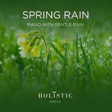 RELAXING PIANO MUSIC & GENTLE RAIN CD FOR SPA STRESS RELIEF MASSAGE DEEP SLEEP