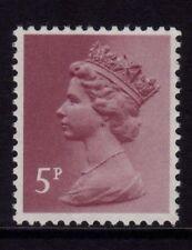 GB 1982 Machin Definitive 5p claret SG X1004 MNH (PP)