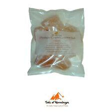 """Himalayan Crystal Gourmet, Bath or """"Sole"""" Pink Organic Natural Salt Chunks 12oz"""