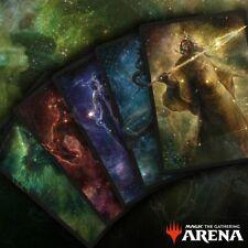 MTG Arena Secret Lair Theros Stargazing Bundle Codes All 5 Sleeves Code IN HAND