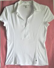 EUC Women's TOMMY HILFIGER White Pull Over Knit TOP / SHIRT - Size S/P