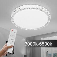 Luxus Kristall LED Deckenleuchte Deckenlampe Dimmbar SternhimmelWohnzimmerlampe