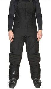 Spyder Coaches Bib Mens Ski Insulated Pants, Size XL, Inseam Regular (33) NWT