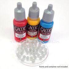 Bolas de cristal de mezcla de pintura - 50 Agitador Rodamiento ciudadela Vallejo Pintor del Ejército