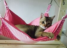 Cat hammock Rustic  and  last for years