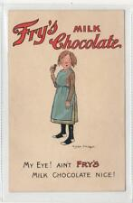 FRY'S MILK CHOCOLATE: advertising postcard by Chas Pearse (C29913)