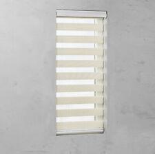 Doppelrollo mit Kassette und Kettenzug in Leinen für Fenster & Türen Sichtschutz