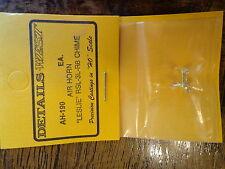 Details West HO #190 Leslie Air Horn -- RSL-3L-R (Brass Casting)