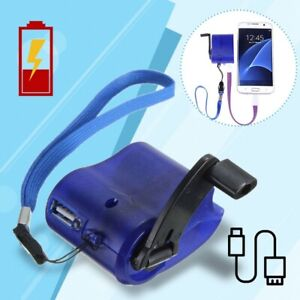 Emergency-Power SOS USB Hand Crank Phone Charger Camping Backpack Survival Gear