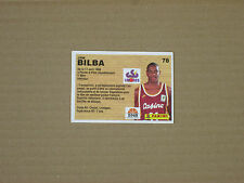 BILBA - CSP LIMOGES  Carte OFFICIAL BASKET-BALL CARDS panini 1994 PRO A
