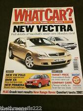 WHAT CAR? - VAUXHALL VECTRA - JAN 2002