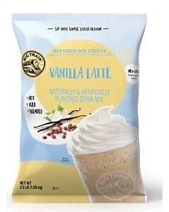 Big Train Blended Ice Coffee Vanilla Latte 3.5lb Expires 10/19/2022