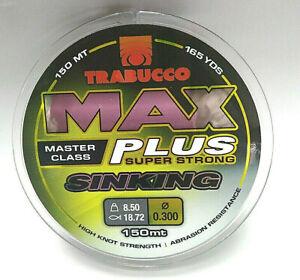 TRABUCCO MAX PLUS SINKING 150m / 165yds fishing line monofilament