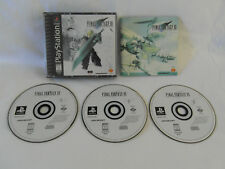 Final Fantasy VII (3 Discs) - PlayStation 1 PS1 - NTSC-U/C (US/Canada)