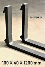 Gabelzinken ISO FEM 2A 100 x 40 x 1200 mm 2500kg Gabelstapler Zinken Stapler