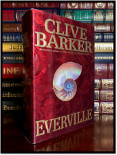 Everville ✎SIGNED✎ by CLIVE BARKER Hardback 1st Edition First Printing - Secret