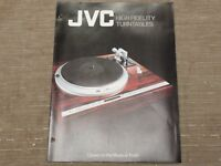 JVC Hi-Fi Turntable QLY5F QLF6 LF66 LA55 LA11 QLY3F  Original Catalogue