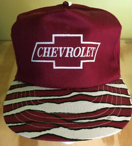 Vintage Chevrolet Trucker Hat Tiger Design Snapback
