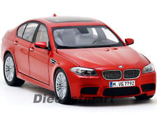 PARAGON MODELS 1:18 2012 BMW M5 F10M LHD SEDAN DIECAST MODEL CAR SAKHIR ORANGE