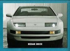 NISSAN 300ZX 16 PAGE BROCHURE NOVEMBER 1994
