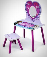 Frozen Vanity Stool Set Children Toddler Kids Role Playing Make Up Girls Game
