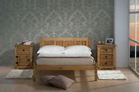 NEXT DAY DELIVERY! Birlea Rio Wooden Bedframe 3FT 4FT 4FT6 Single Double Bed