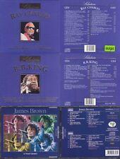 RAY CHARLES B. B. KING JAMES BROWN  3x2 CD
