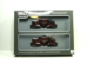 WALTHERS PROTO HO SCALE SLAG CAR 2-PK RUST W/DECAL #S 920-107911