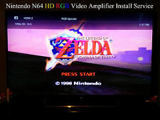 Nintendo 64 N64 RGB Mod Mail-in Installation Service: THS7314 video amplifier