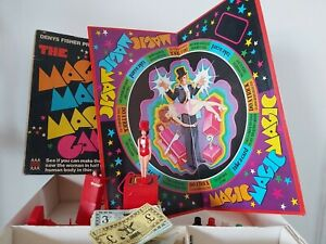 THE MAGIC MAGIC MAGIC GAME VINTAGE 70's BOARD GAME BY DENYS FISHER **Rare**