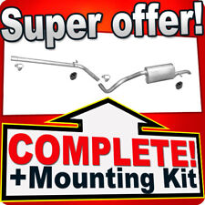 VW POLO (6R) 1.2 11.2009-2014 Exhaust System X76C