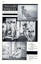 Magazin-Spiegel ( Dodge Twins - Renate Müller ) Phot.Süßman Photo-Collage c.1930