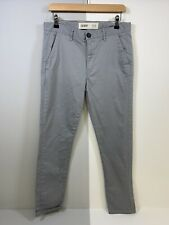 Topman Skinny Chinos Grey Mens 32 X 30