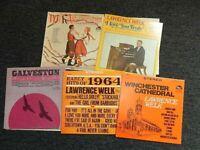 LAWRENCE WELK~lot of 5 lps--a Wonderful,Wonderful,Wonderful SALE!!!!!