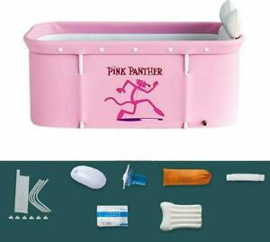 120CM Portable Household Thick Folding Shower Sauna Steam Bathtub Bucket Adult