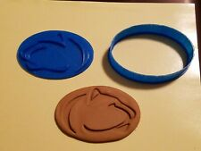 Penn State Nittany Lions Logo Design Cookie Cutter with Detail Impression Disc