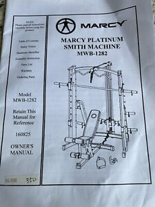 Marcy Platinum Smith Machine Spares