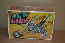 1971 Mattel TOM DANIEL LOW BLOW Model Kit Mini Bike Easy Rider Motorcycle Helmet