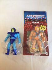 Mattel MOTU Masters Of The Universe Origins He-Man & Skeletor Vintage Head