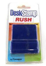 Desk Stamp Red RUSH w/ Built in Stamp Pad NEW 25,000 Impressions by Xstamper