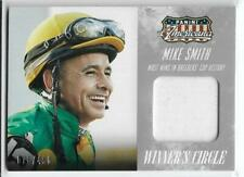 AWESOME 2015 PANINI AMERICANA WINNER'S CIRCLE MIKE SMITH RELIC CARD ~ MULTIPLES