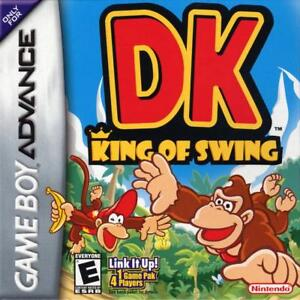 DK King Of Swing GBA Great Condition Fast Shipping