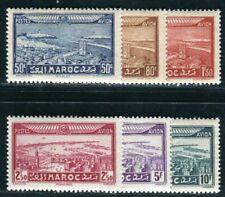 MAROC 1933 Yvert PA 34-39 ** POSTFRISCH TADELLOS (09277